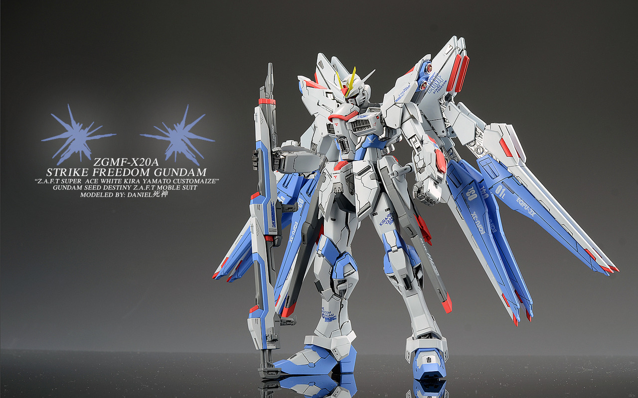 VP Strike Freedom Gundam Ver.daniel死神: Photoreview No.17 Wallpaper Size Images