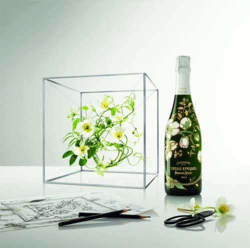 For the first time since Emile Gallé's original design, Perrier- Jouët invites Japanese artist Makoto Azuma to reinterpret our Belle Epoque bottle in the spirit of his floral masterpieces.  Announcing the Perrier-Jouët Belle Époque Florale Edition…Champagne
