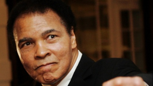 "peopleinislam:  People in Islam: Muhammad Ali  ""This man might be the most famous man in the world. And he is a Muslim."" -Will Smith  Arguably one of the world's most famous Muslims, Muhammad Ali has been for the longest time, the face of Islam in America. Born in 1942 in Louisville, Kentucky to a Christian family, Muhammad converted first to the Nation of Islam in the mid 1960s and then to Sunni Islam in the mid 1970s, Muhammad Ali quickly became the face of Muslim-Americans as one of the highest profile reverts in modern American history he would speak on television about Islam and give Americans the first sight of a faith they had largely been ignorant about, and to give them an insight to the clash of concepts of how women were treated with both the western ideal and the Islamic ideal. He speaks still to this day about what Islam is and isn't, most recently during a Tribute to Heroes fundraiser alongside actor Will Smith. Brother Muhammad Ali has been an inspiration to Muslim Americans for generations and insha'Allah, he will have many more years to worship and give dawah to millions of Americans who still look up to the kid from Kentucky who changed America in so many ways.  Dave Chappelle is also Muslim, I learned recently."