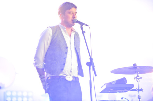 Marcus Mumford of Mumford & Sons performs at Open'er Festival in Gdynia, Poland on 7th July 2012. Photo copyright P. Tarasewicz.