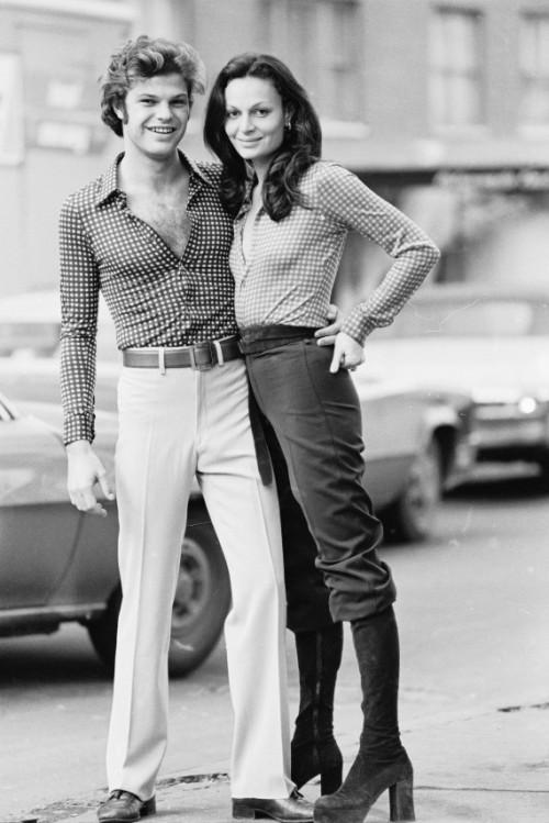 rebeccasharez:  Diane von Furstenberg & her husband Barry Diller in the 70s. This is amazing.