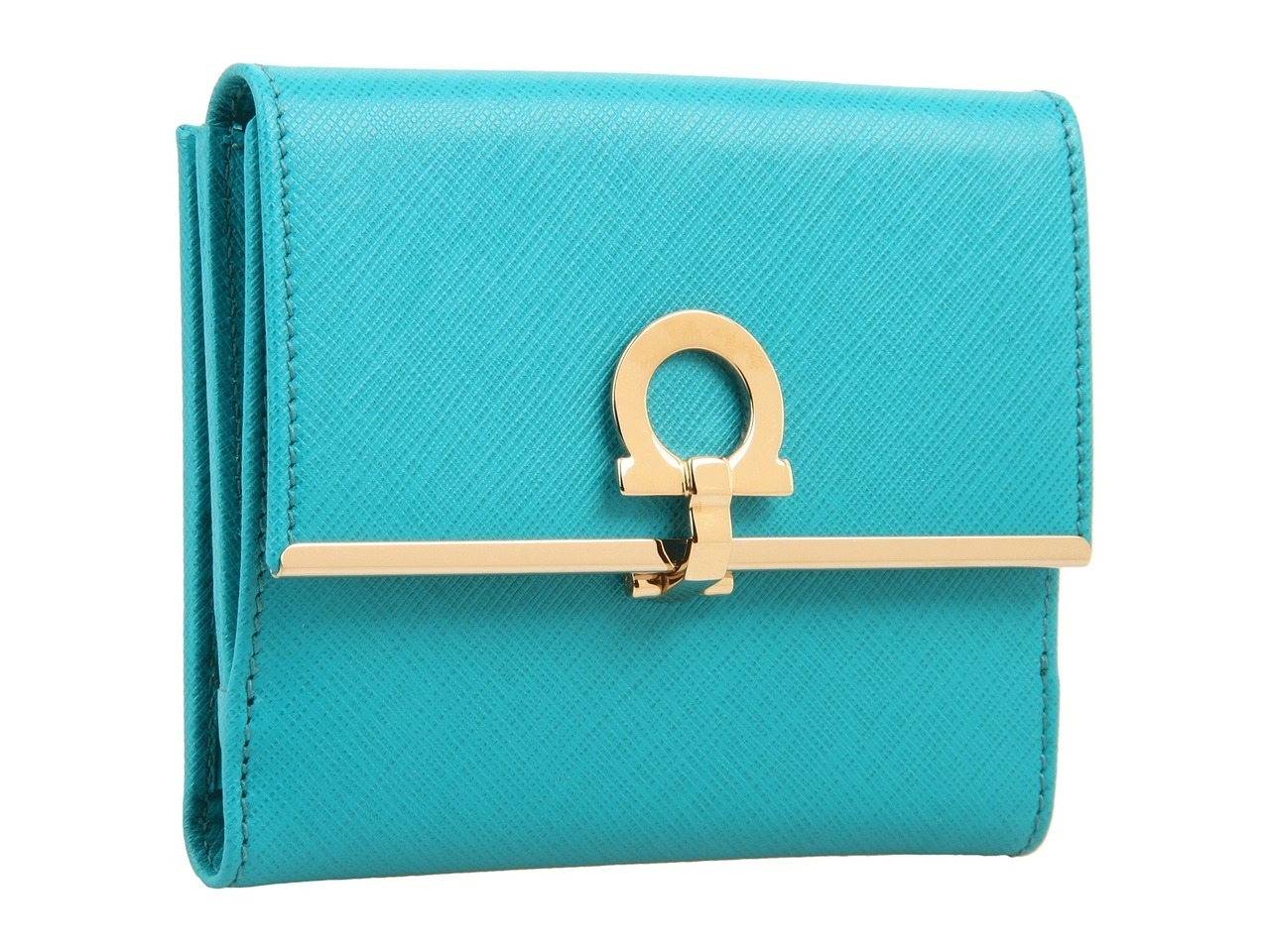 "mutexme:  Zappos has this beautiful Salvatore Ferragamo Icona French wallet on sale for $ 297 (Orig $ 425) You need to choose color ""Teal saffiano"" in order to view the price  Free shipping both ways   BUY THE WALLET. have no money to put in…"