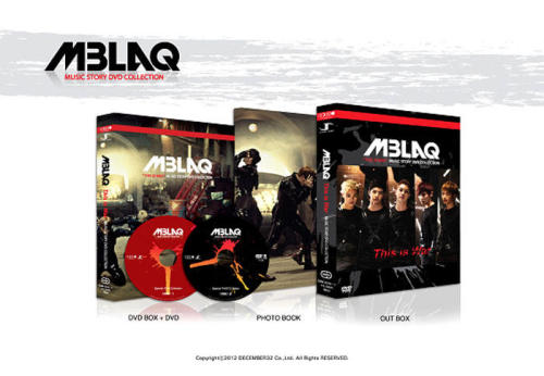 MBLAQ This is War Music Story Korea Edition(2DVD + 50 page Photobook, Regions 1, 3, 4, 5, 6, English & Korean Subs)Set Only : $38.00+ Folded Poster : $40.00+ Unfolded Poster : $42.00