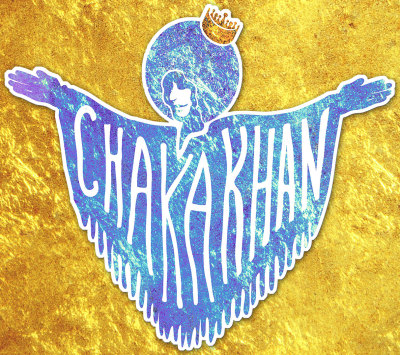 I am designing merchandise for Chaka Khan and I'm so happy about it.