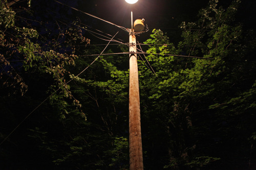 Gilmanton, NH (power lines #3) from a new series tentatively titled 'Country Road'