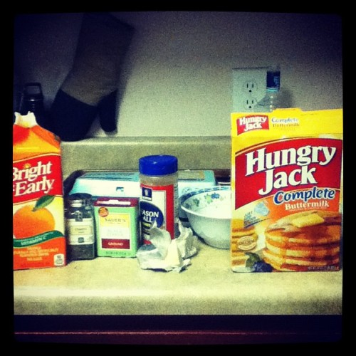 Domo's Breakfast kit (Taken with Instagram)