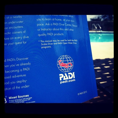 #letters #padi #julyphotoaday  (Taken with Instagram)