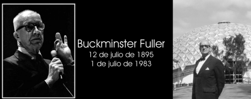 Happy Birthday Buckminster Fuller !!