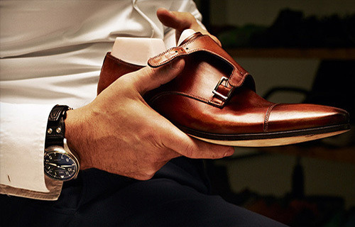 1 in hand means 2 on your feet - #Dresswell Double strap monks