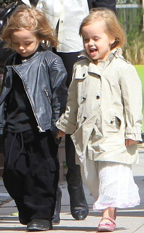 The Brangelina Twins turn 4 today!! I mean, with Pitt as their last name, how can they NOT be gorgeous?! Click here to see their style throughout the years: eonli.ne/P32rwQ