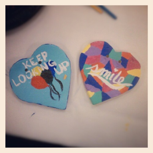 07122012 #NewYorkLife #VolunteersForLife // Healing #Hearts of #Hope // After ^-^ #Work #Paint #Crafts #Charity  (Taken with Instagram at New York Life Ins Company)