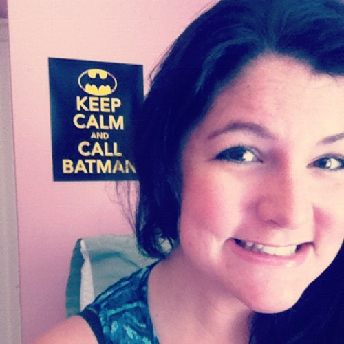 He's always got my back. #imdatingbatman #luckygirl (: (Taken with Instagram)