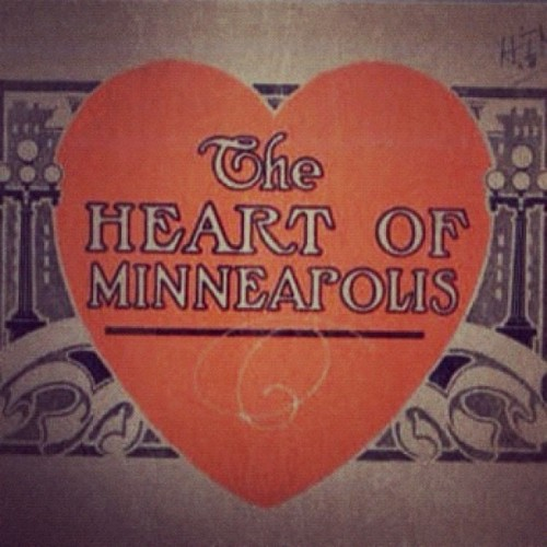 The #Heart of #minneapolis #historic #minnesota  (Taken with Instagram)