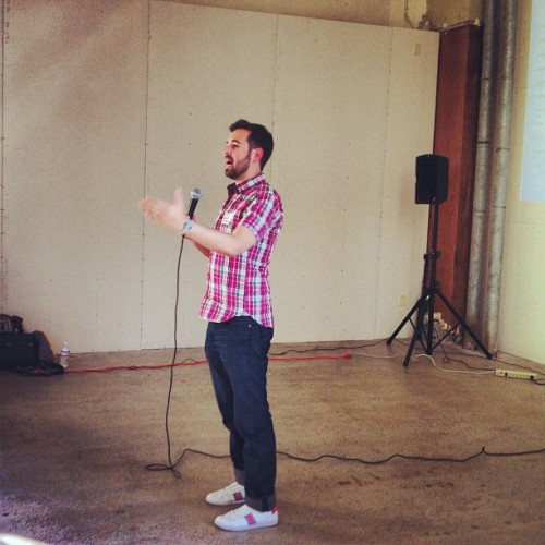 ideamensch:  Rand Fishkin (@randfish) on the IdeaMensch Seattle stage (Taken with Instagram)  Super cool! Looking forward to the IdeaMensch event in CLE on Aug. 22. (Speakers TBD)
