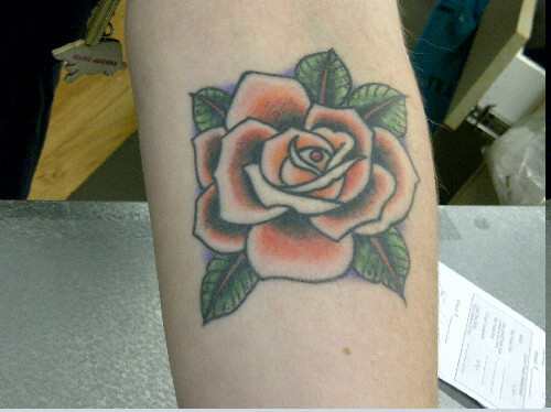 "tatpix:  ""My mom's favorite flower."" By Turbo @ Taylor Street Tattoo Chicago"
