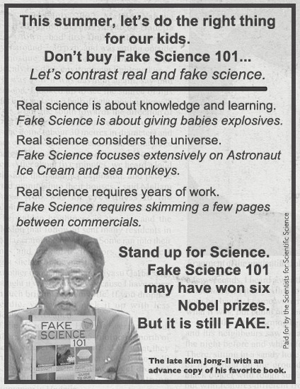 Please Help Fake Science Fight Negative Ads