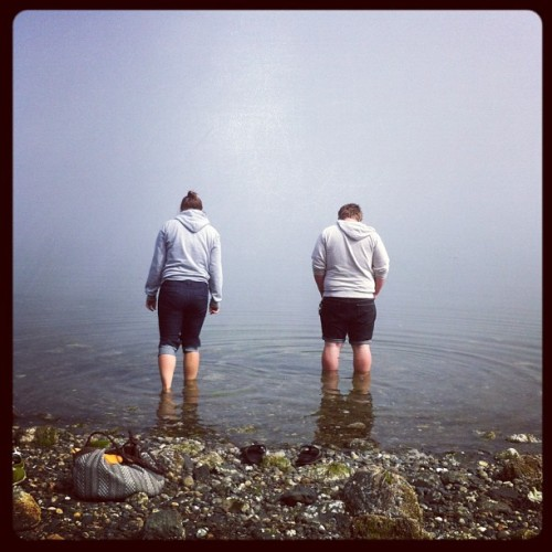 fog // twins in the sound  (Taken with Instagram)