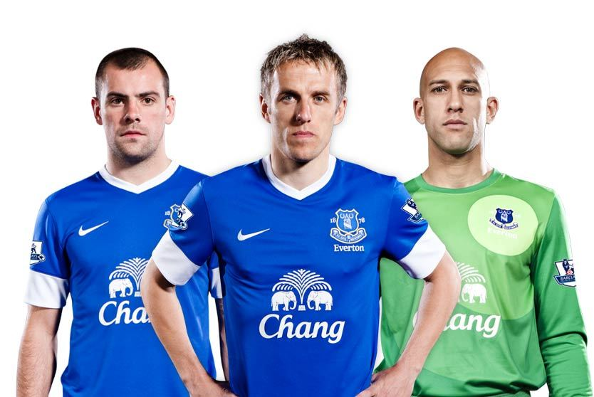 America's Team just became more American. Introducing the new Everton home kit by Nike.