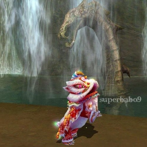 spring lion pet in forsaken world :O #forsakenworld #fw #game #mmorpg #superbabp (Taken with Instagram)