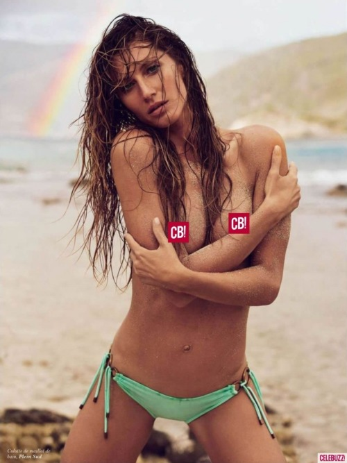 PHOTOS: Gisele Bundchen poses topless for new sexy Paris Vogue spread