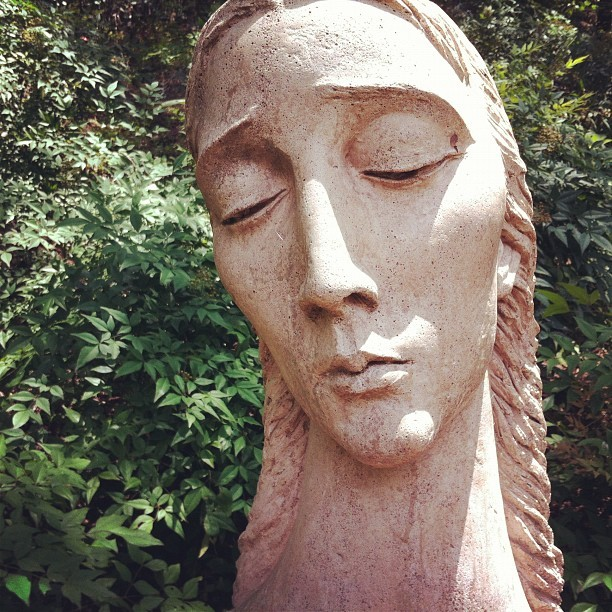 Taken with Instagram at Umlauf Sculpture Garden