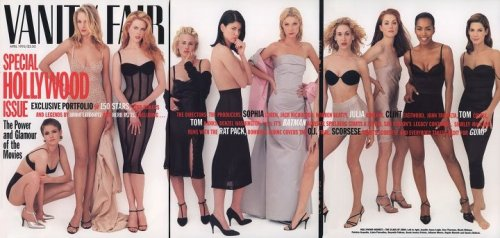 Can't stop starring at this Vanity Fair spread from 1995. Seriously, entrancing.