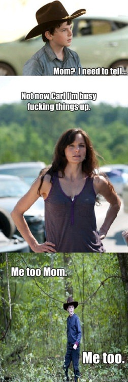 The Walking Dead: Lori & Carl