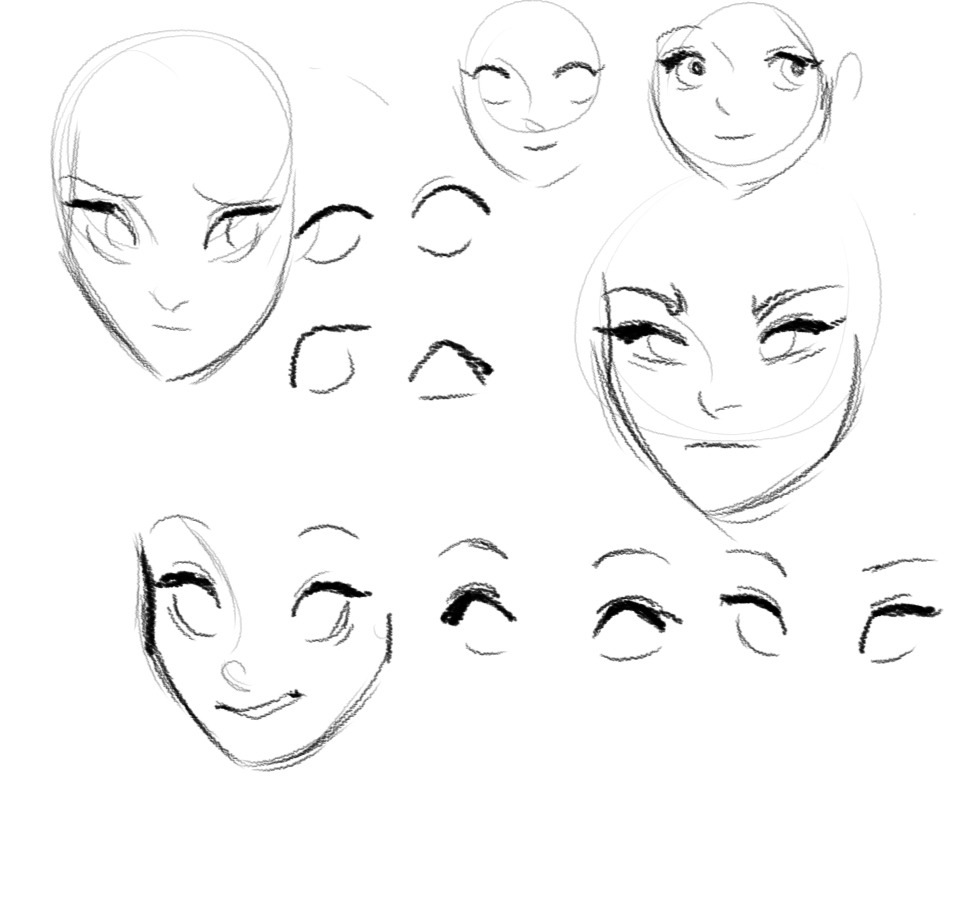 Scribble Drawing Of Face : Refrences for drawing on pinterest glen keane character