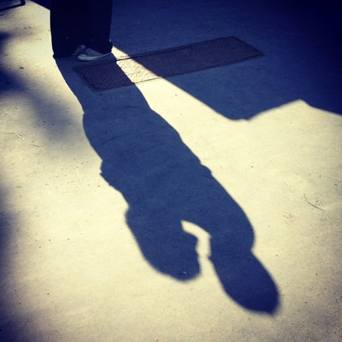 Couple. #shadow (Taken with Instagram)