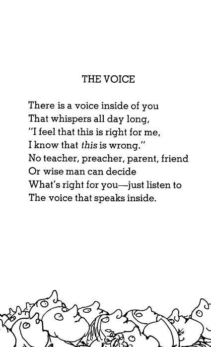 milkstudios:  Mid Week Inspiration. Shel Silverstein was a cool dude.