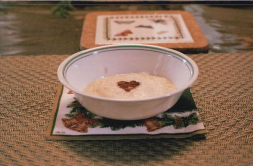 cream of wheat avec cannelle  et amour