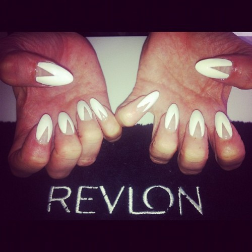 Got my nails done up by @jennynails RiRi style at the Revlon press day today  (Taken with Instagram)