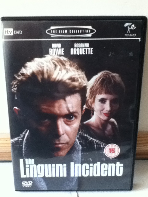Finally got my hands on a DVD of The Linguini Incident!