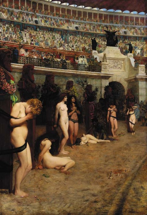 tatteredbanners:  Faithful Unto Death by Herbert Gustave Schmalz