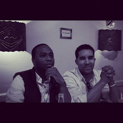 From the vault: Fall 2009- NYU Young Legends @marvinyves @richwthomas  (Taken with Instagram)