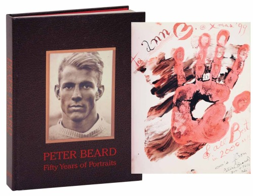 Peter Beard 50 Years of Portraits. Signed with a Hand Print! http://www.jhbooks.com/pages/books/112054/peter-beard/peter-beard-fifty-years-of-portraits-signed-first-edition