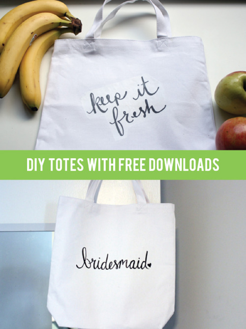 Keep it fresh! Have the cutest grocery bag in the market with these DIY totes by blogger Hollywould!