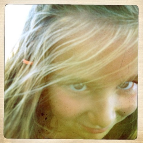 Sun Bathing Beauty 2 #hipstamatic #foxylens #ina's69 #portrait #children #summer (Taken with Instagram)