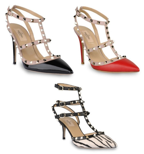Valentino Women's Fall/Winter 2012 Studded Shoe Collection