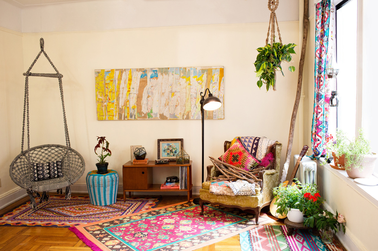 I love rooms like this. Light and bright! urbanoutfitters:  Home Catalog 2012 / Photography by The Selby