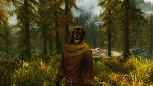 "M'aiq didn't understand why I wanted him to ""Say Cheese"""