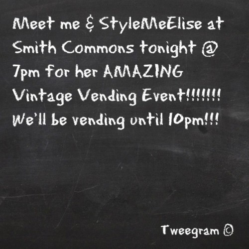 #stylemeelise #vintage #smithcommons @stylemeelise  (Taken with Instagram)