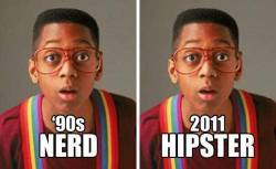 supremeblogger:  From Nerds To Hipsters