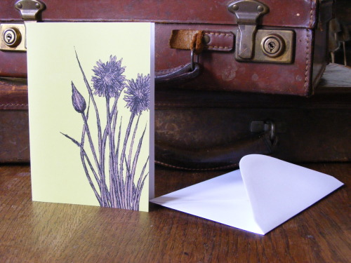 Chives Blank Greeting Card  Now available through my Etsy shop.