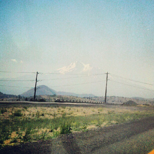 A barely there mountain (Taken with Instagram)