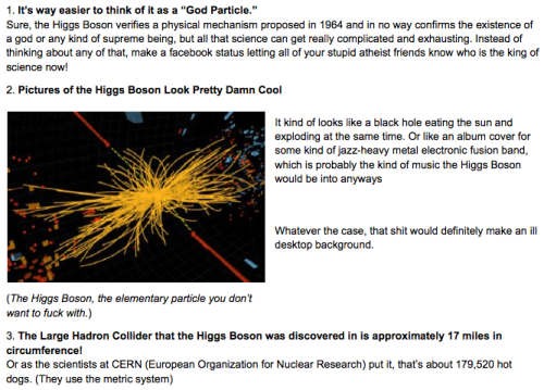 5 Things Everyone Should Know About the Higgs Boson [Click to continue reading]