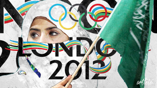 Saudi Arabia to send female athletes (Judoka & Runner) to the 2012 London Olympics for the first time. http://www.reuters.com/article/2012/07/12/oly-sa-women-idUSL3E8IC2TH20120712