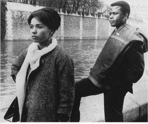 Diahann Carroll & Sidney Poitier in Paris Blues, 1961