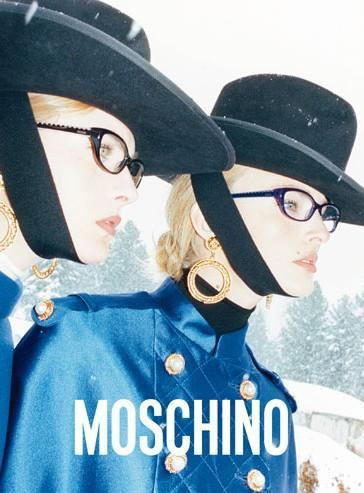 Moschino fall/winter 2012 advertisement.