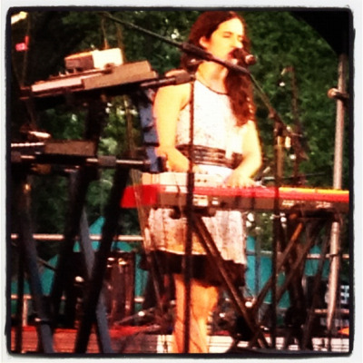 Ximena Sariñana closes out her tour at Central Park Summerstage for LAMC 2012